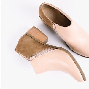 Matisse Mojave Leather and Suede Bootie